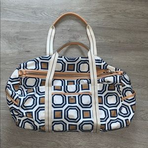 Tory Burch Bags - Tory Burch Gym Bag: never been used